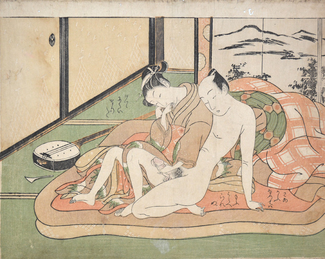 , 'Tender Moment:  The Forgotten Shamisen,' ca. 1760, Ronin Gallery
