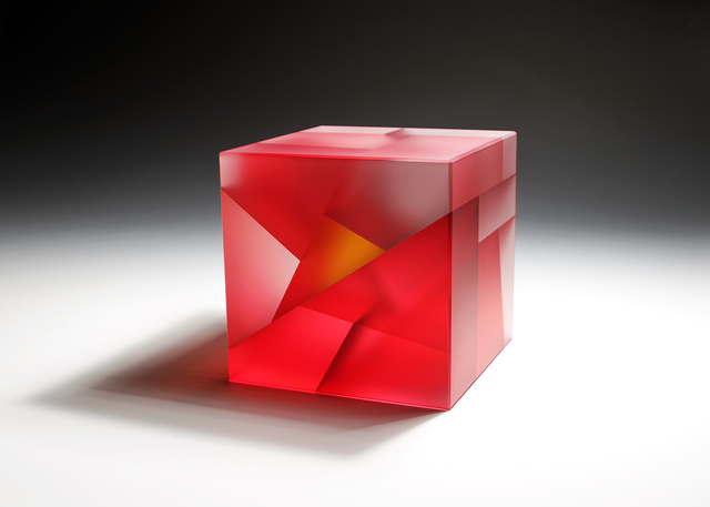 , 'Red-Orange Core Cube ,' 2015, Duane Reed Gallery