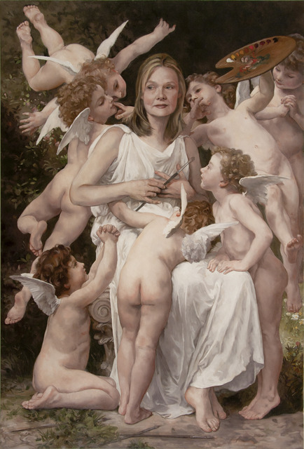 , 'Self Portrait as Bouguereau's The Assault,' 2012, Francis M. Naumann Fine Art