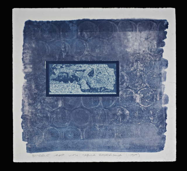 Cynthia Reynolds, 'bubble wrap with Tabula Rogeriana (1154)', 2008, Art Shape Mammoth