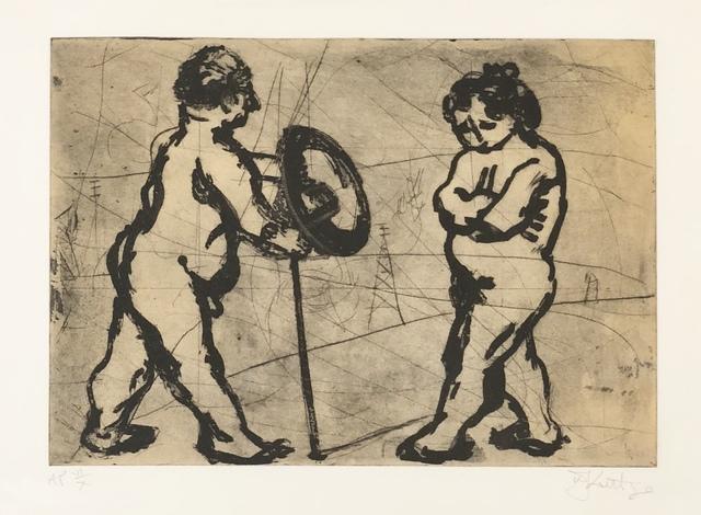 , 'Adam & Eve,' , Absolut Art Gallery