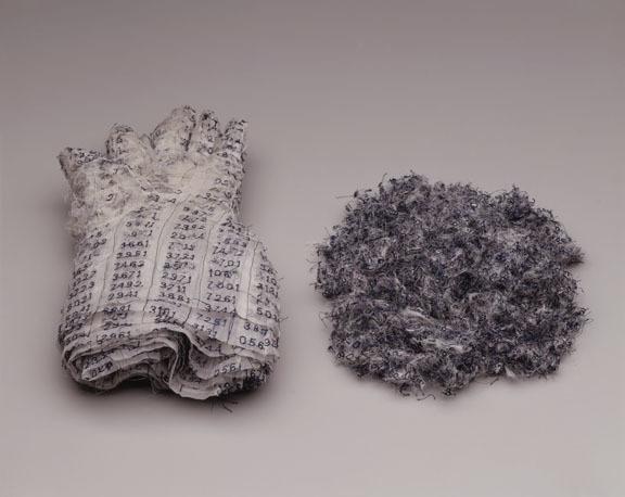 , '(kalf - gloves),' 1997, Elizabeth Leach Gallery