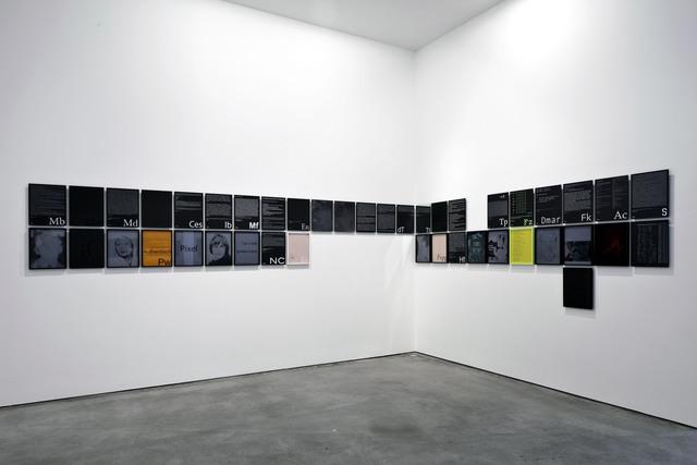 , 'Index der Willkür, unvollendet,' 2010-2011, Galerie Thomas Schulte