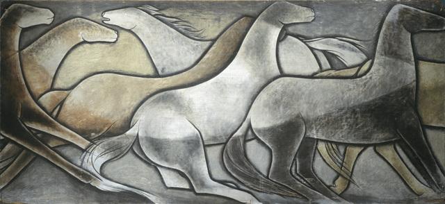 , 'Wild Horses,' 1936, Denver Art Museum