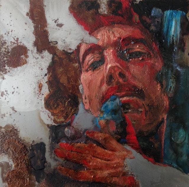 Sabatino Cersosimo, 'Narciso dal suo riflesso', 2017, Dellasposa