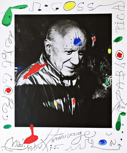 Joan Miró, 'Hommage à Picasso (Homage to Picasso)', 1975, Alpha 137 Gallery