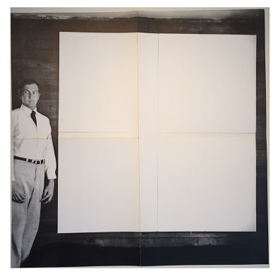 ", '""1951 White Paintings"" 1968, Leo Castelli Exhibition Invite/Poster,' 1968, VINCE fine arts/ephemera"