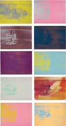 Andy Warhol, 'Electric Chairs,' 1971, Phillips: Evening and Day Editions