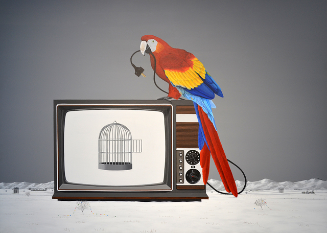 , 'Parrot,' 2015, Anna Laudel