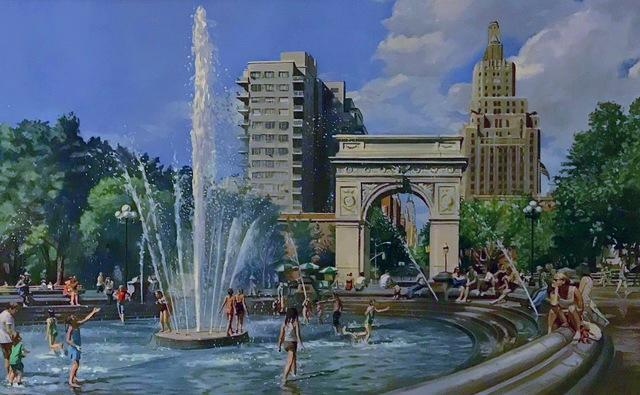 , 'Study for Washington Square Park,' 2012, Louis K. Meisel Gallery
