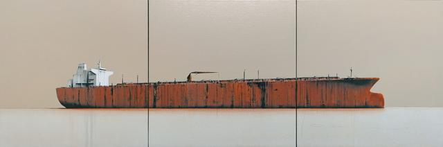 , 'Tanker 38 (triptych),' 2018, Massey Klein Gallery