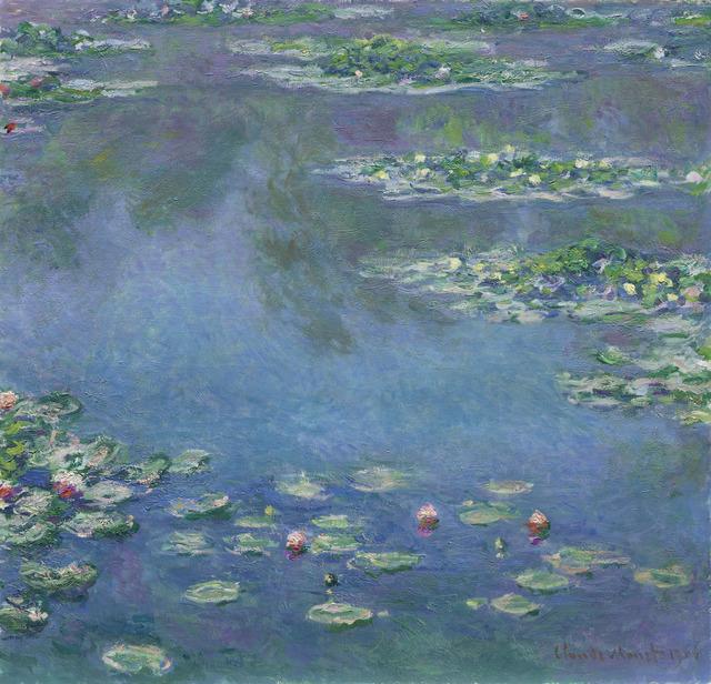 , 'Water Lilies,' 1906, Ordrupgaard