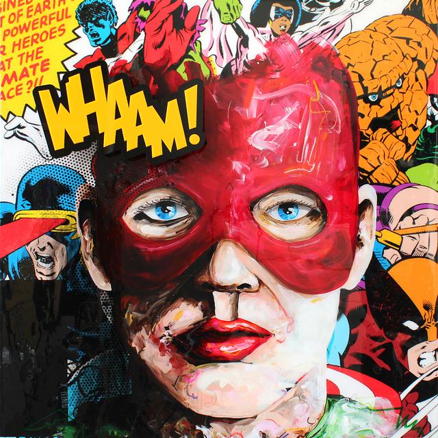 , 'WHAAM,' 2017, GO Gallery