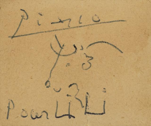 Pablo Picasso, 'Tête de taureau ', De Jonckheere