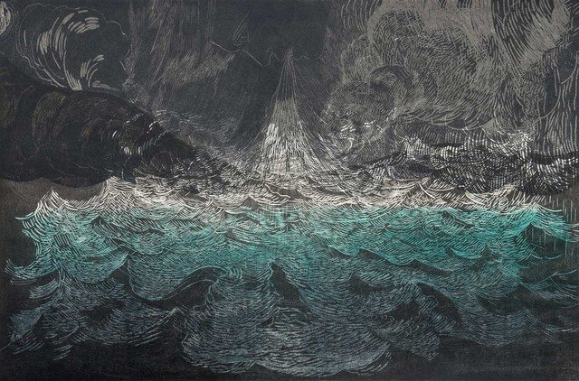 , 'Wind over Water,' 2014, grahame galleries + editions