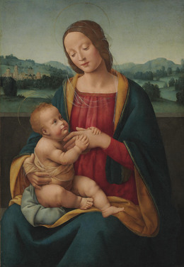 , 'The Madonna and Child before a landscape,' , Christie's Old Masters