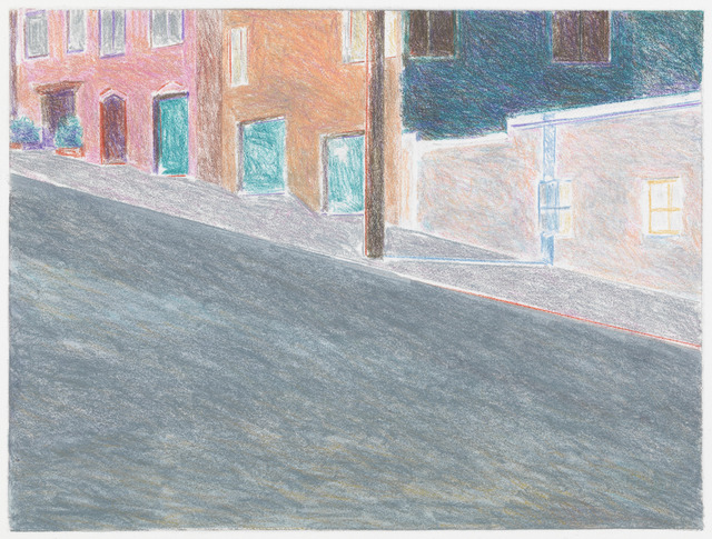Robert Bechtle, 'Arkansas Street (5),' 2013, Crown Point Press
