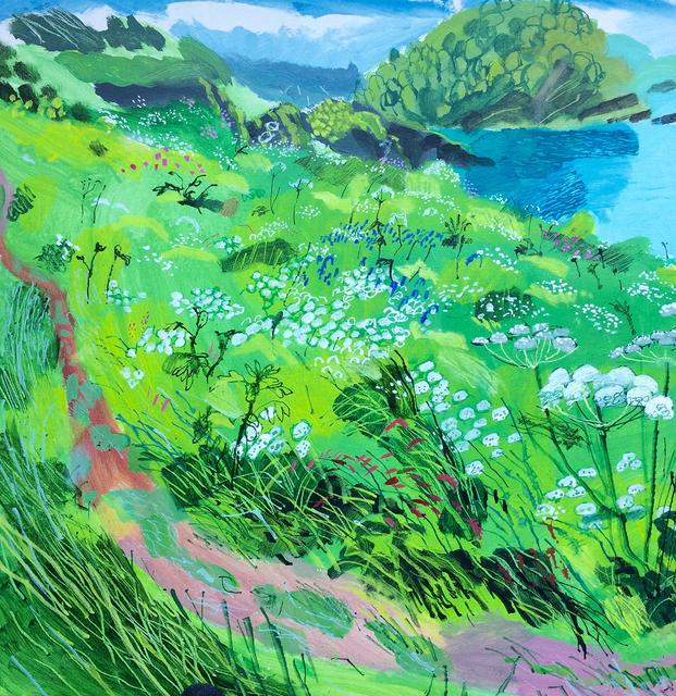 , 'Wild Summer Garden on Cliff Top,' 2018, Hybrid Gallery
