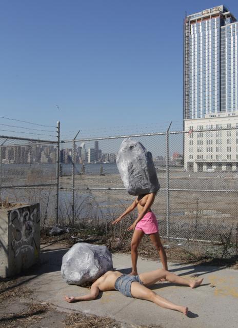 , 'Women of the Stone Age Rock,' 2014, Akinci
