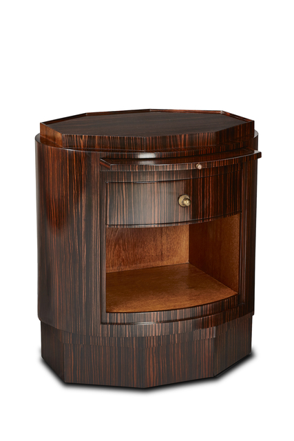 , 'A Macassar ebony Vautheret side table,' ca. 1925, DeLorenzo Gallery