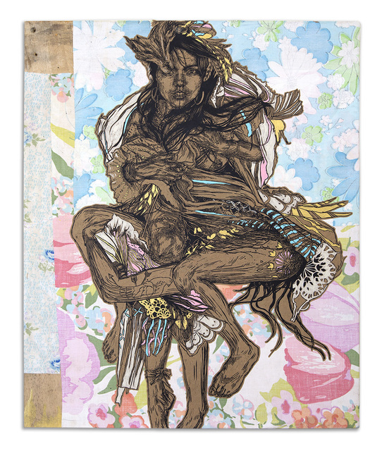 Swoon, 'Monica', 2016, Roman Fine Art