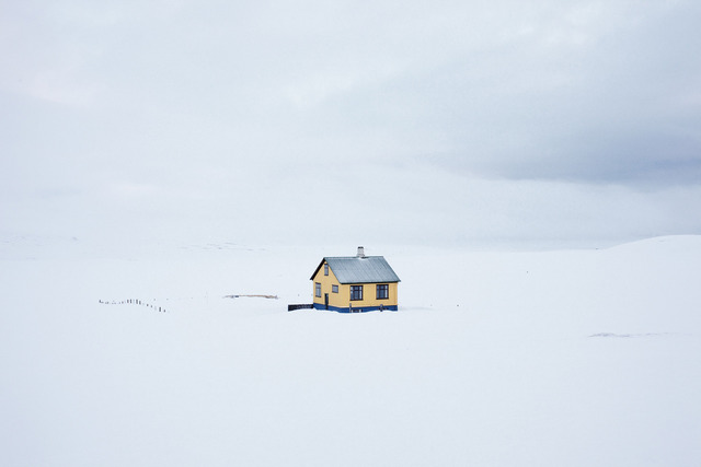 , 'Yellow House, On the Road,' 2011, Robert Mann Gallery