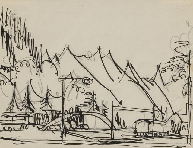, 'Train Station, Davos-Platz,' ca. 1925, Galerie St. Etienne
