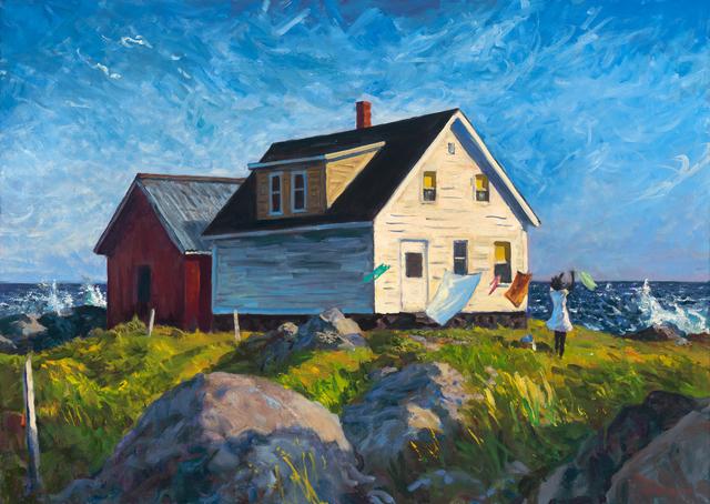 Mark Beck, 'The Windy Coast of Maine', 2019, Patricia Rovzar Gallery