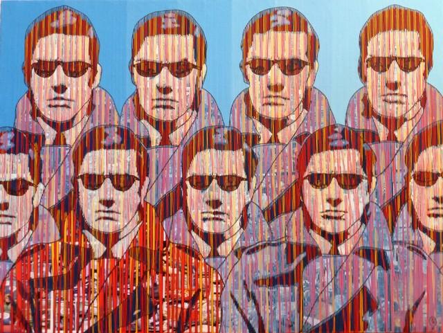 , 'La Foire Aux Gangsters,' 2017, Galerie Art Jingle