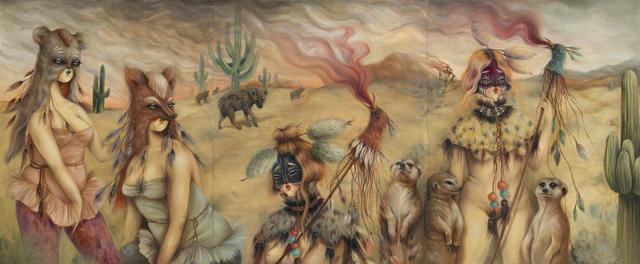 , 'Guerreras,' 2019, Fousion Gallery