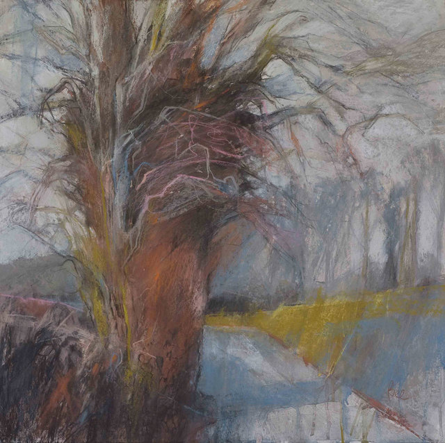 , 'Lime after the February Trim,' , Mall Galleries