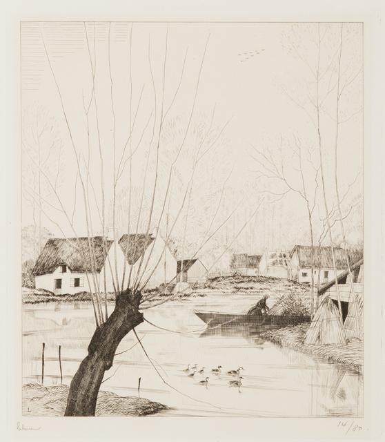 , 'L'Automne dans les Marais,' 1929, Childs Gallery