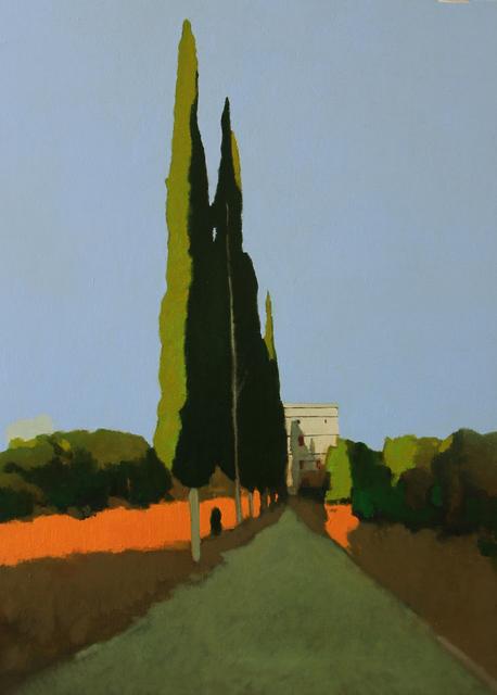 , 'Cypress Trees,' 2018, Accesso Galleria