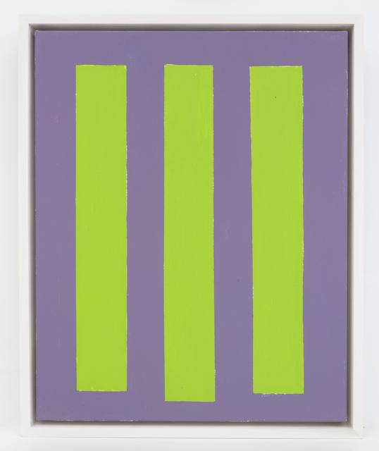 , 'Three Green Totems,' 2018, Elizabeth Harris Gallery
