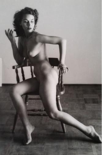 André de Dienes, 'Nu sur chaise', 1960, Kunzt Gallery