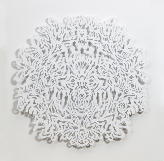 , 'Reflective Monochrome (White),' 2014, Erin Cluley Gallery