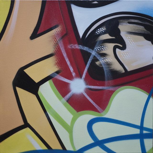 CRASH, 'Her Camaro', 2010, Painting, Spray Enamel on Canvas, Fine Art Acquisitions Dali