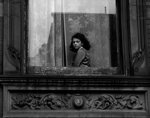 , 'Girl in Harlem Window,' 1954, Galerie Thierry Bigaignon