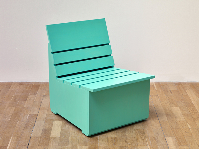 , 'Sunny Chair for Whitechapel (2016) (Mint),' 2016, Whitechapel Gallery