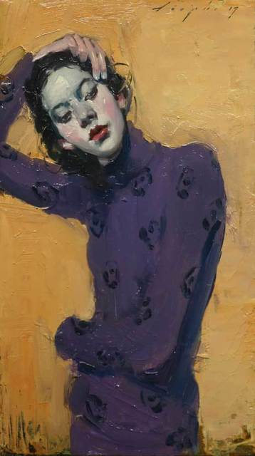 , 'Purple Sweater,' 2017, Shine Artists | Pontone Gallery