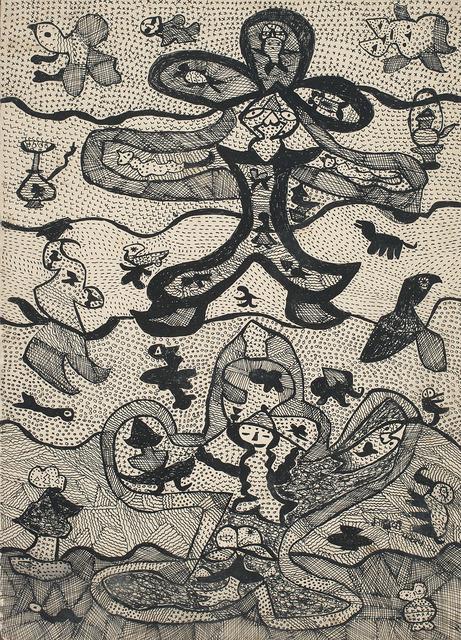 , 'Flying Figure,' 1974, DAG