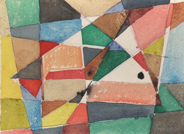 , 'Orchestration (Diagonals),' 1947, Dolan/Maxwell