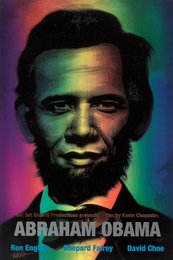Abraham Obama (Red, White, and Blue)