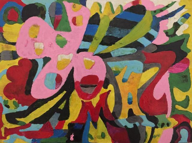 , 'AMAZE,' 2017, parts gallery