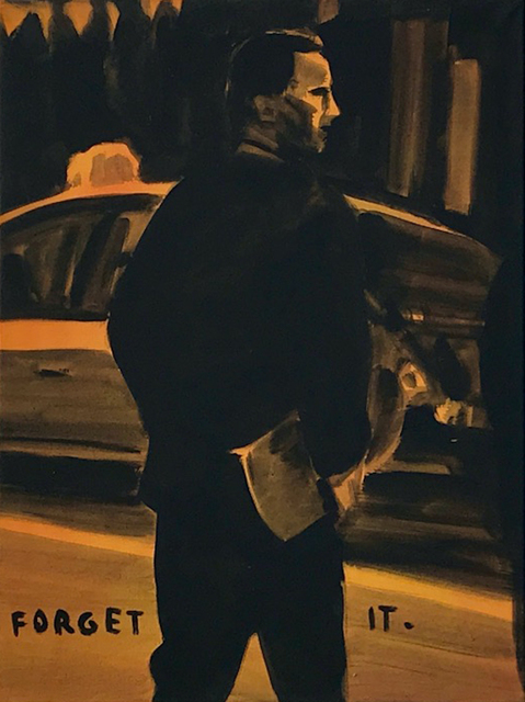 Andreas Leikauf, 'Forget it', 2005, Painting, Acrylic on canvas, Gagliardi e Domke