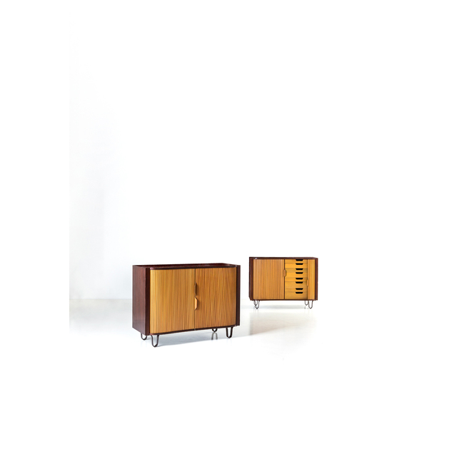 Edward J. Wormley, 'Mr And Mrs Chests, Chests Pair', 1950, PIASA