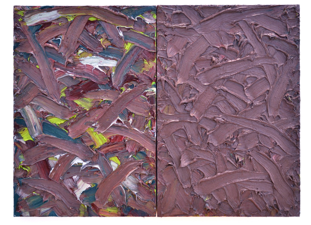 , 'Abstract Diptych #42,' 2016, Telluride Gallery of Fine Art