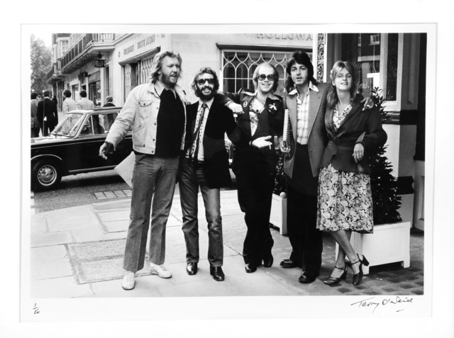 Terry O'Neill, 'Elton Seeing Old Friends, London', 1976, Chiswick Auctions