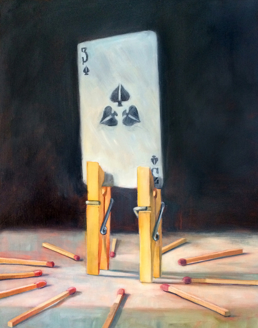 , 'Three of Spades,' 2016, Sue Greenwood Fine Art