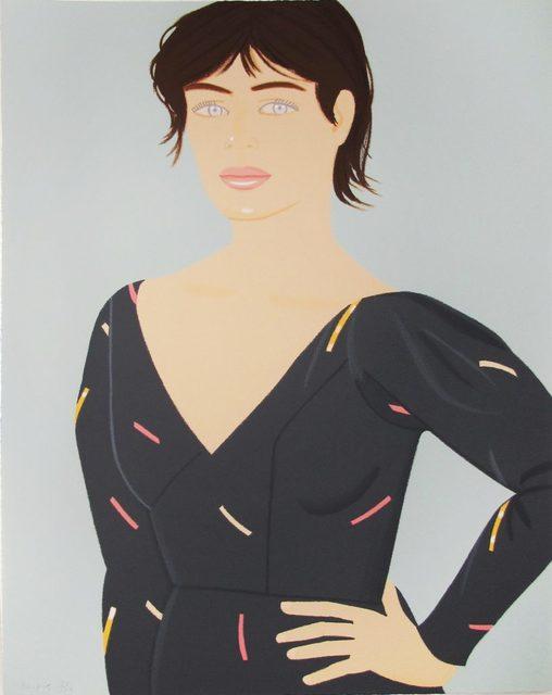 Alex Katz, 'Gray Dress (Laura)', 1992, Hamilton-Selway Fine Art